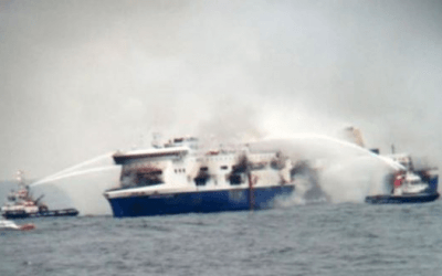 Fatal Ferry Fire in the Adriatic – Norman Atlantic Fire